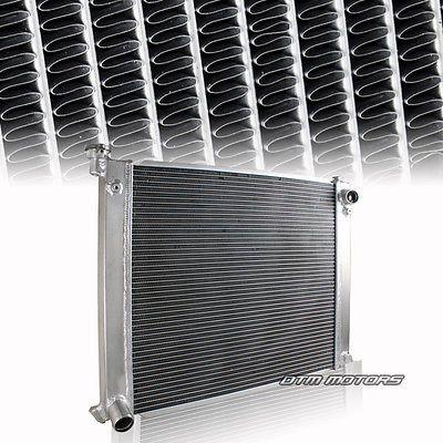 Manual Transmission 2 Row Dual Core Aluminum Radiator For