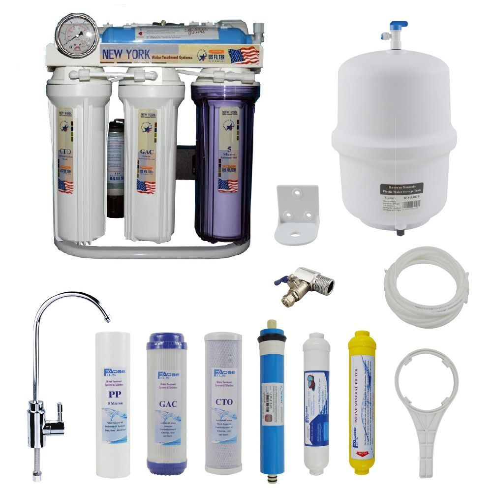 Aquafilter Ae Water Purifier 7 Stages Water Filtration System Water Treatment System Water Filtration