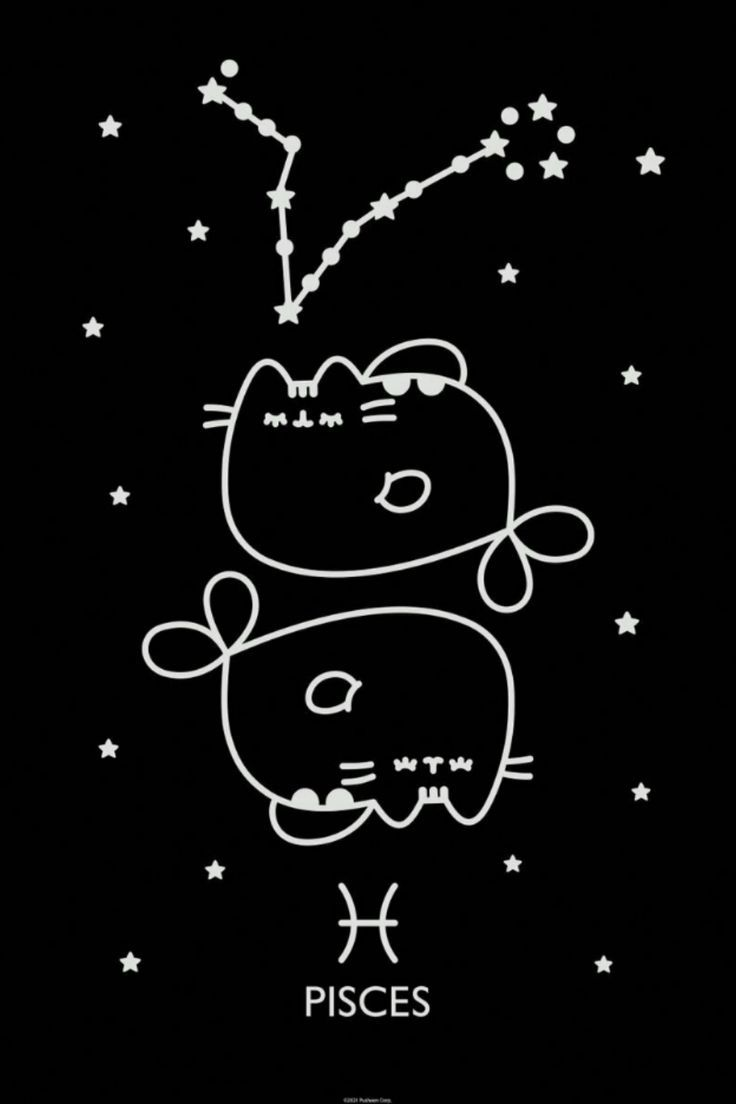 Pisces poster by Pusheen The Cat Official Brand Shop thumbnail