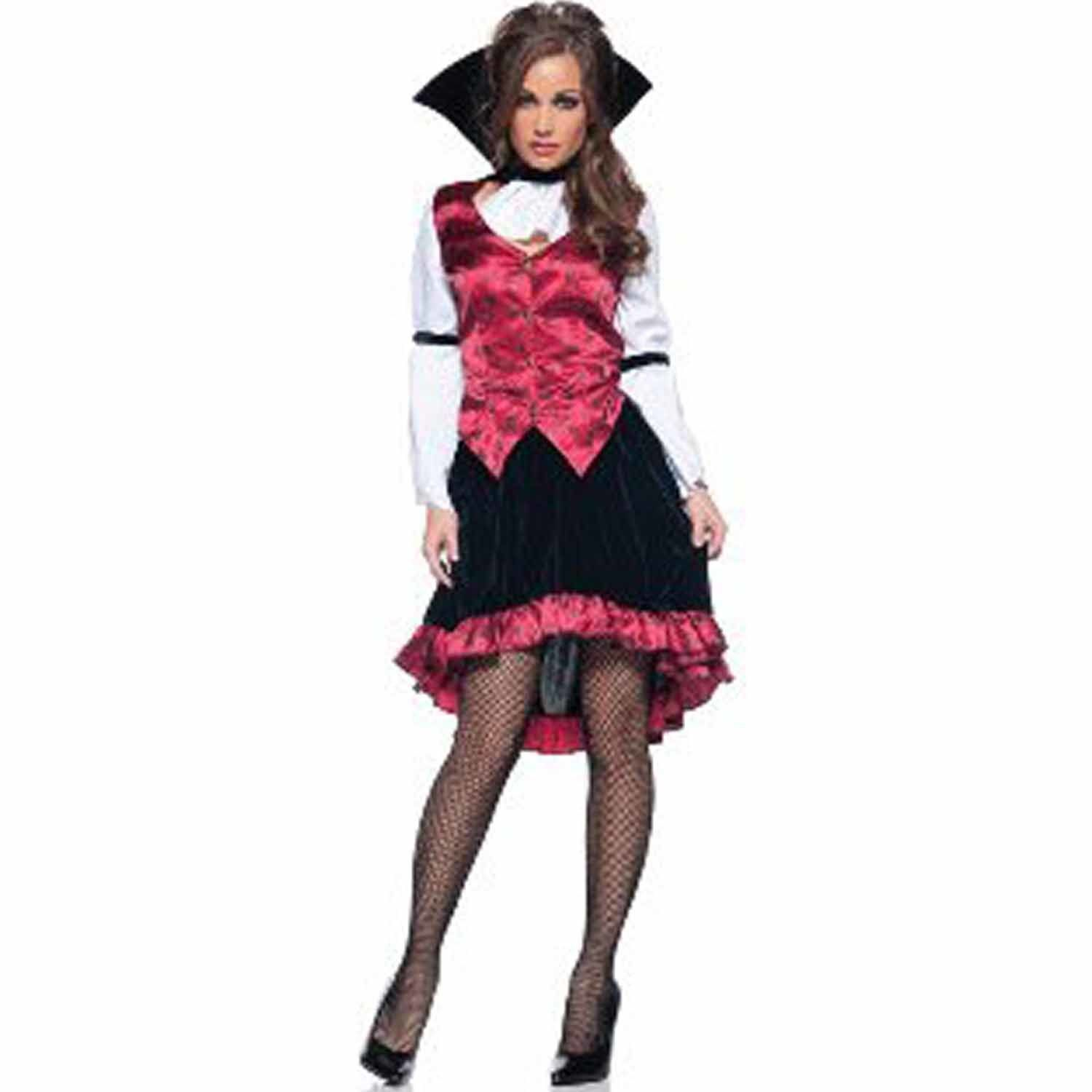 Underwraps Women's Raven Sexy Vampire Halloween Costume (Small ...
