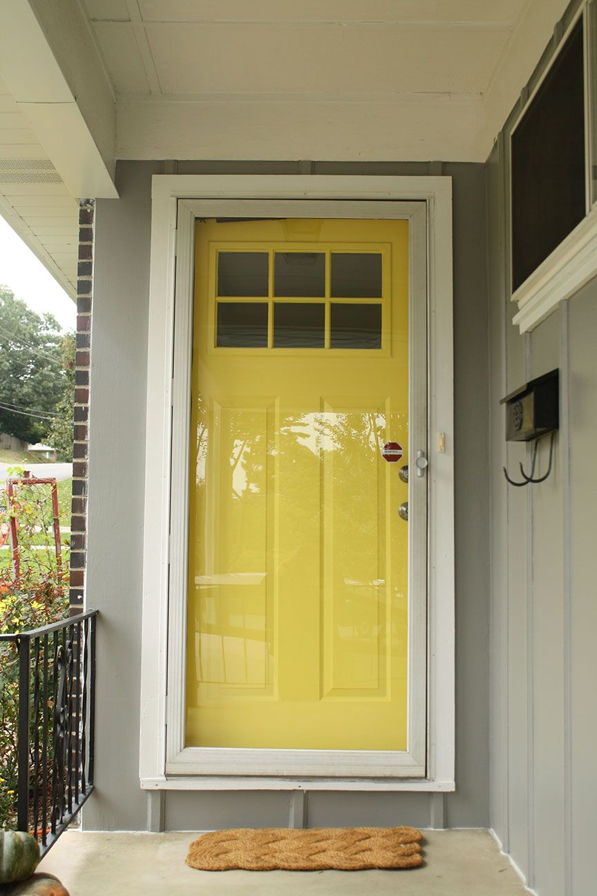 white front door yellow house. I Can Ideally See This Door On Our House, Yellow, Top Windows For Light White Front Yellow House L