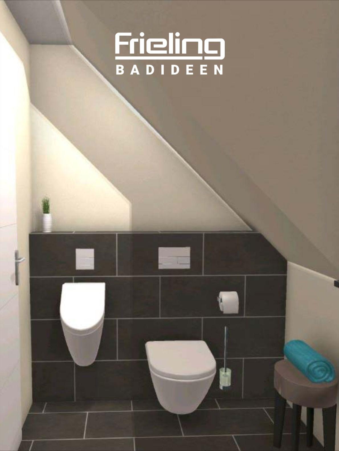 Problem Schrage Gibt Es Nicht Das Gaste Wc Mit Schrage 3d Planung Ansicht Auf Urinal Wc In 2020 Gaste Wc Kleine Fliesen Wand Wc