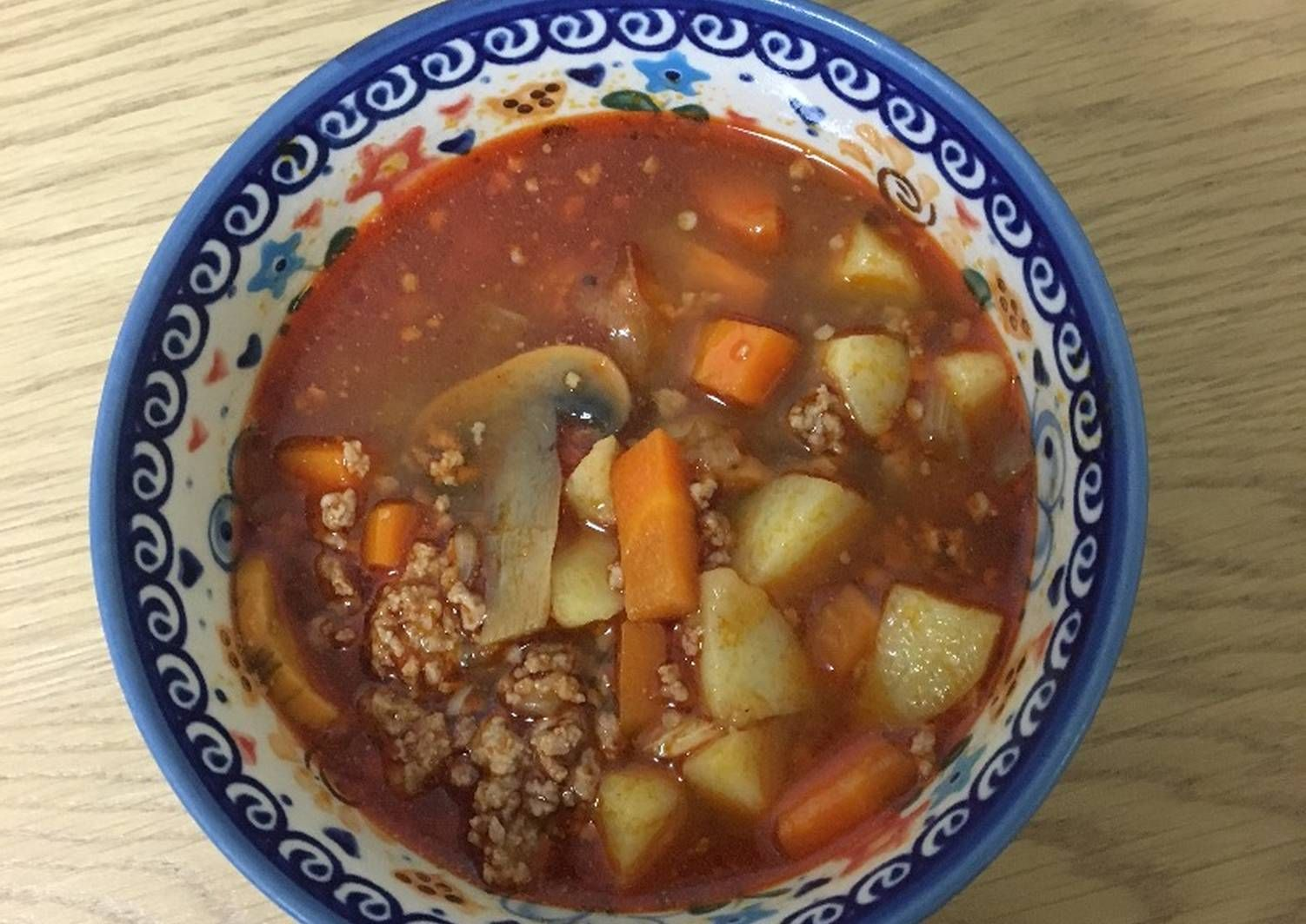 Czech Goulash Soup Recipe By Nina Recipe Goulash Soup Recipes Goulash Recipes Czech Recipes