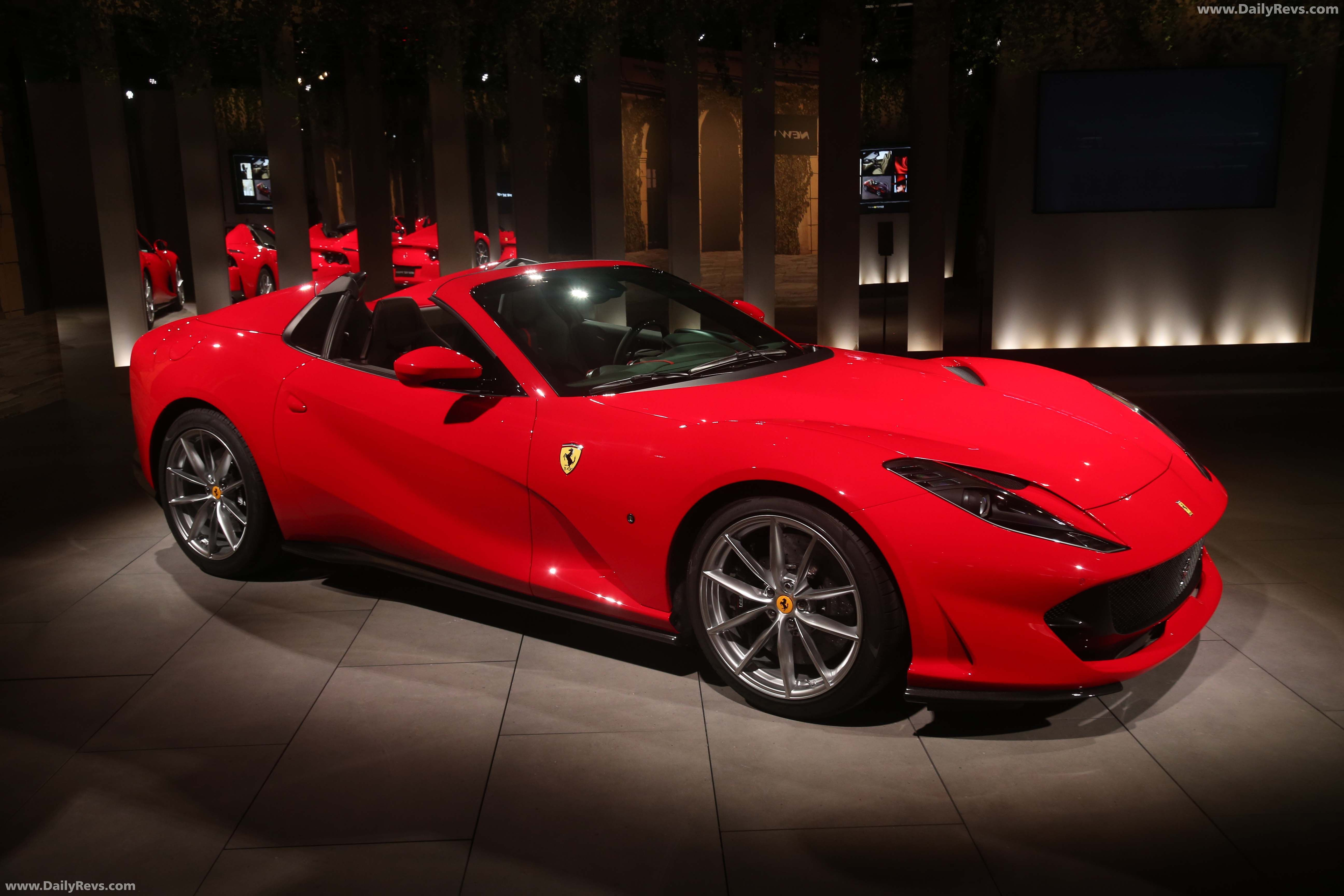 2020 Ferrari 812 Gts Hq Pictures Specs Information And Videos Dailyrevs In 2020 Ferrari Good Looking Cars La Ferrari