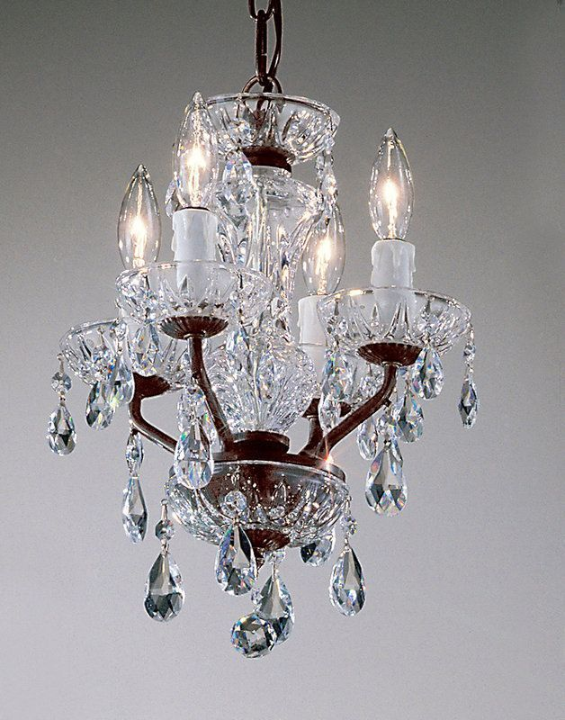 View the Classic Lighting 8384 EB 15 Crystal