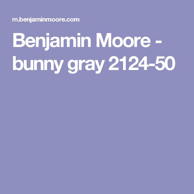 Best Color Overview Benjamin Moore Bunny Gray Van Deusen 400 x 300
