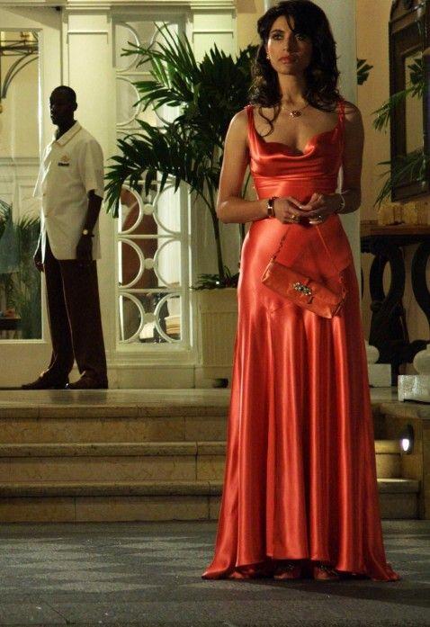 Solange - Caterina Murino - Casino Royale | james bond wedding ...