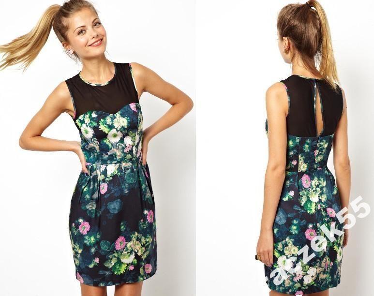 Asos Sukienka Bombka W Bajkowe Kwiaty R 36 3709595254 Oficjalne Archiwum Allegro Dresses Fashion Summer Dresses