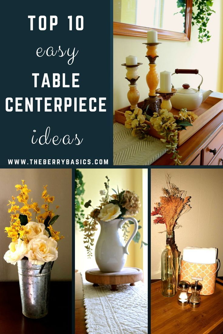 Top 10 Easy Table Centerpiece Ideas for Your Home images