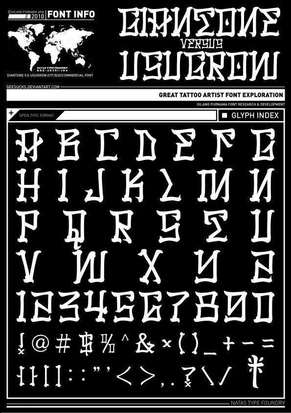 usugrow font