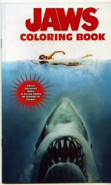 Jaws Coloring Book I Think I Need This Coloring Books