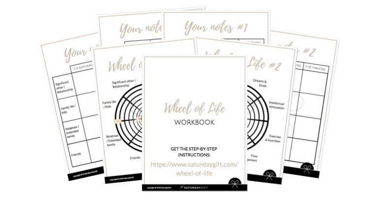 Audit Your Life with the Wheel of Life (+ Free Workbook