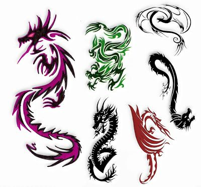 Tatuaż Wzory Tatuaży Tatuaż Smoki Tatoo Dövme
