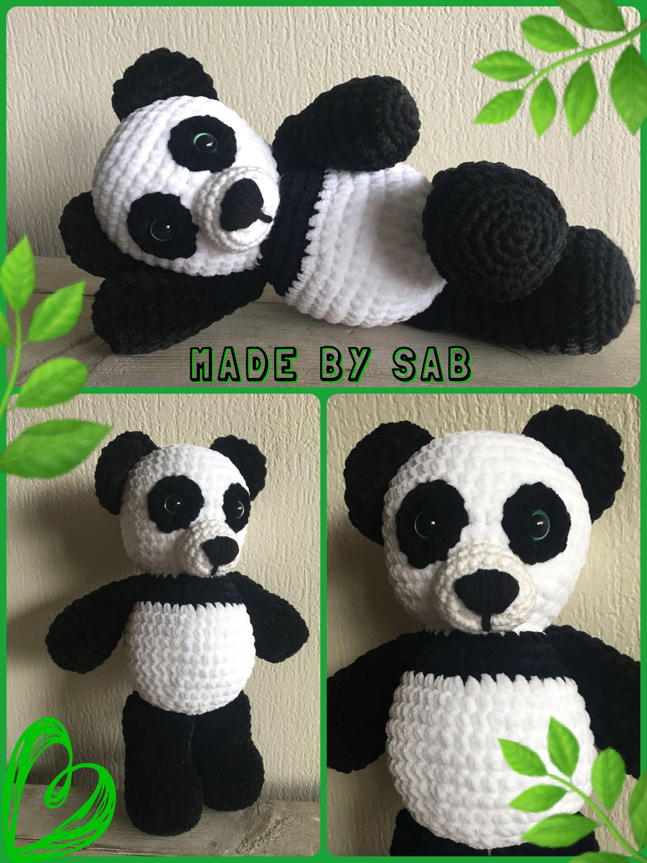 Panda Beer Patroon Van Eskimobeertje Silla Van Marrôt Design Met