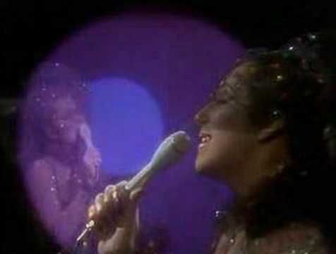 Dark Lady, Cher, mid-70s—The Sonny and Cher Show. - This is my favorite of all Cher songs and in fact was the 2nd 45rpm that I ever owned as a kid; the first was Seasons in the Sun.