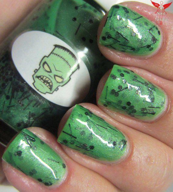 Halloween Frankenstein Nail Polish | Nail polish