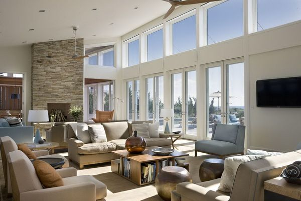 Best Living Rooms At Stylish Eve In 2013 Hamptons House