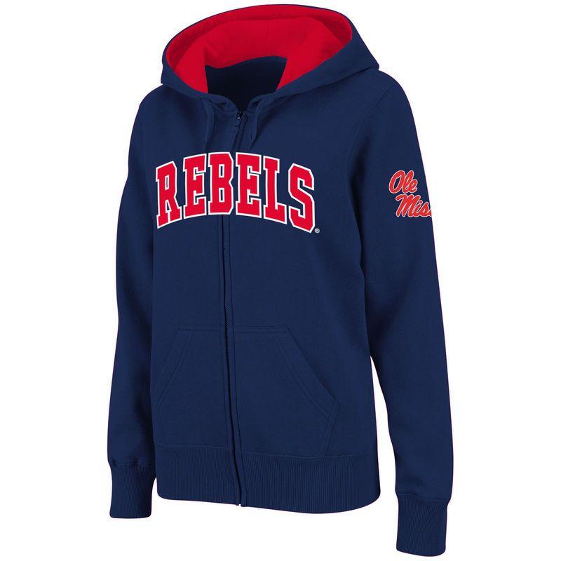 Ole Miss Rebels Nike Football Sideline Short Sleeve Hot Jacket Red