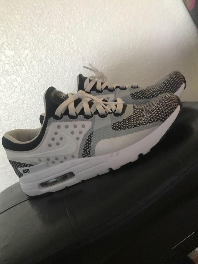 Nike Air Max Zero Essential Shoes Mens 876070 101 Black