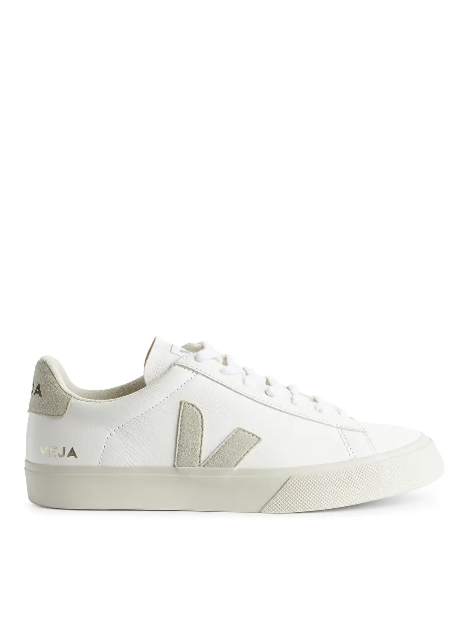 Veja Campo - White/Grey - Shoes - ARKET