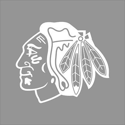 Chicago Blackhawks NHL Team Logo Color Vinyl Decal Sticker Car - Window stickers for cars chicago