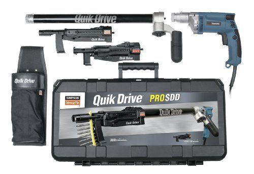 Quik Drive Prosddm35k Complete Combo Multi Use Kit For
