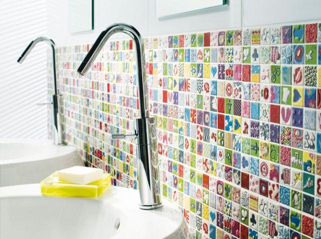 une salle de bains pour tout faire comme les grands elle dcoration - Salle De Bain Enfants