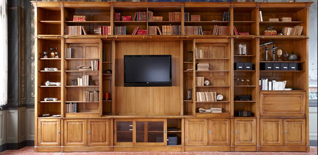 GRANGE Compositions a bespoke storage solution : Bookcase – TV – Wardrobe – Bar