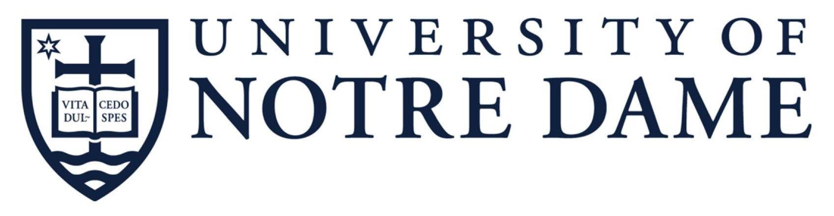 University Of Notre Dame Logo Vector Free Logo Eps Download Notre Dame University University Logo Notre Dame Logo