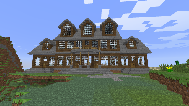 Minecraft Mansion Interior Mansion Build Interior Or