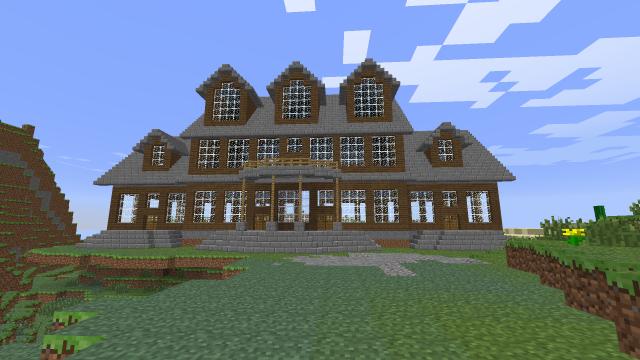 Mansion Build Interior Or Exterior Ideas Screenshots Show Your Creation Minecraft Minecraft Architecture Minecraft Houses Minecraft House Tutorials