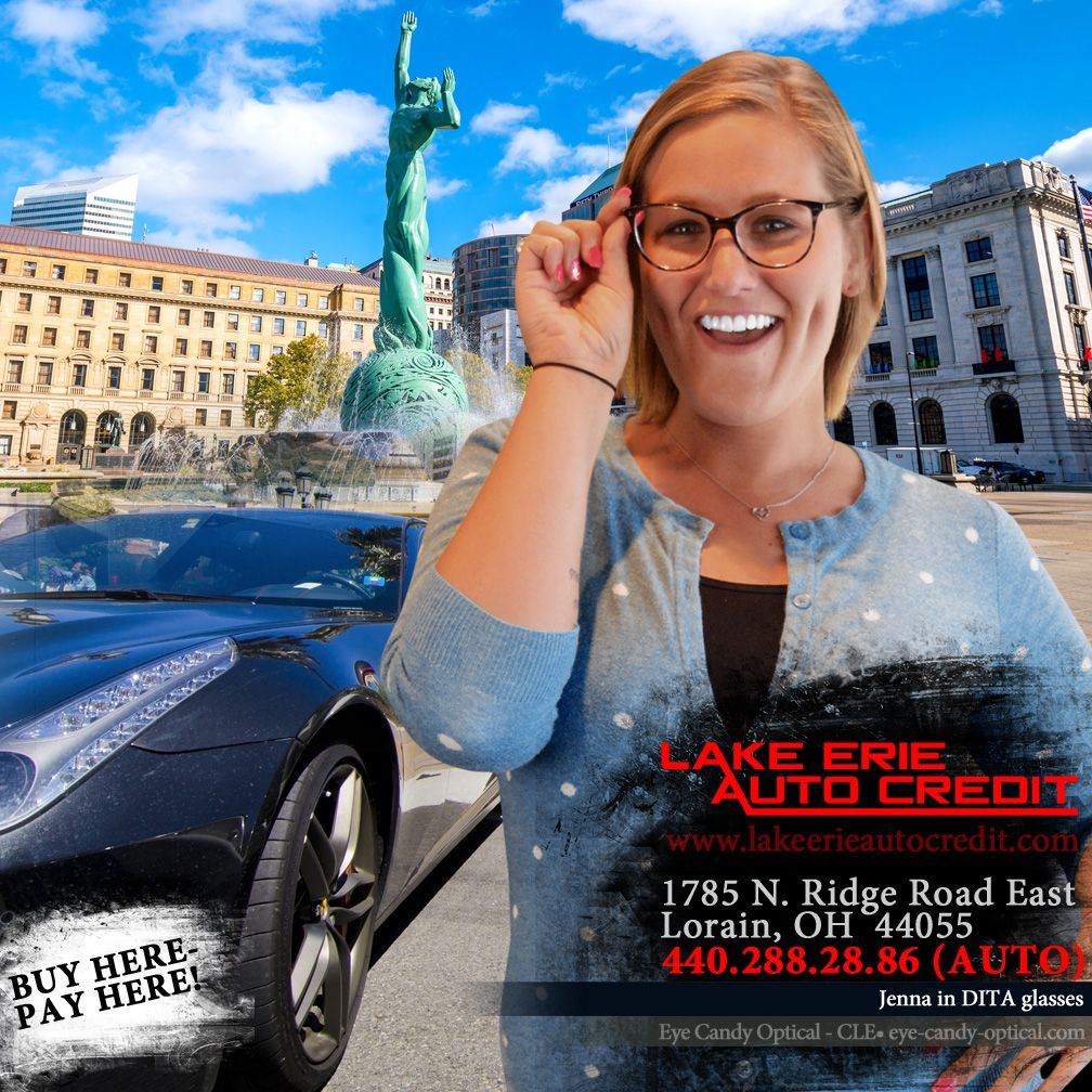 Lake Erie Auto Credit >> Jenna From Lake Erie Auto Credit Is A Cle S Social Media