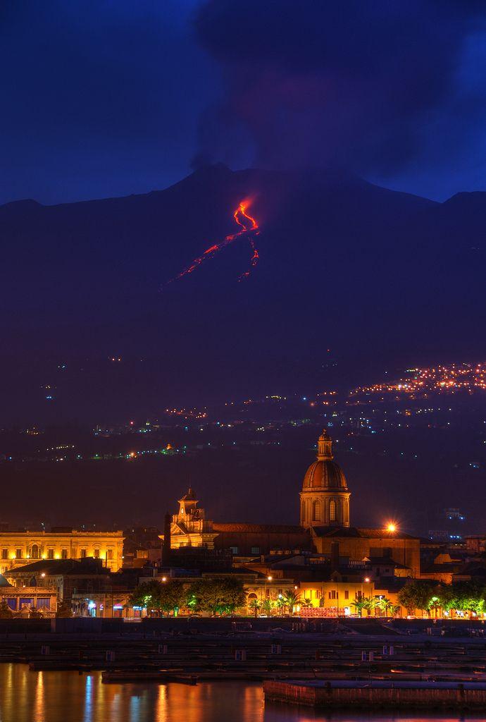 Etna's Eruption May 2008 -