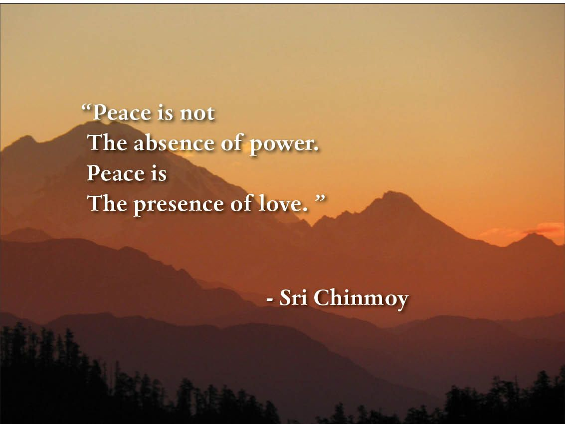 finding inner peace So what does finding inner peace mean to me it means being content with who  you are, enjoying what you are doing and loving the path you are on.