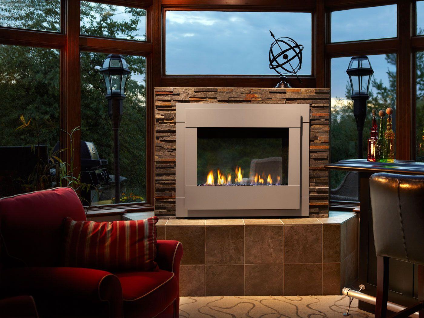 Outdoor lifestyles twilight modern gas fireplace design