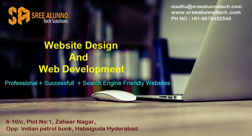 Sree Alunno Tech Solutions Offers High Quality Website Designing Website Development And Internet Internet Marketing Service Internet Marketing Website Design