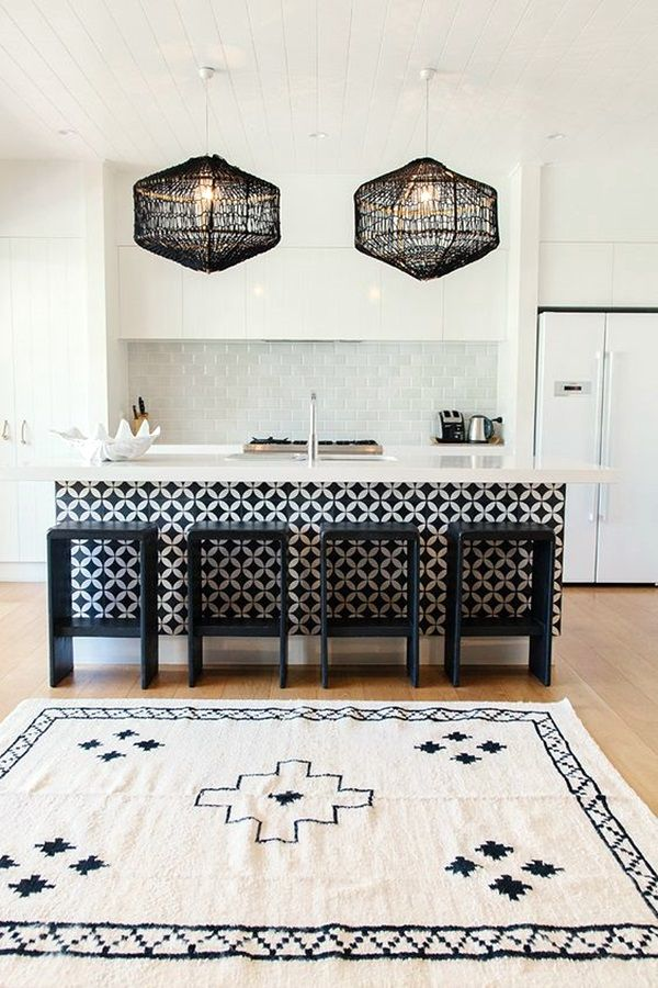 40 Ethnic Decoration Ideas To Stay Traditional   Bored Art. Black And White Living  Room ...