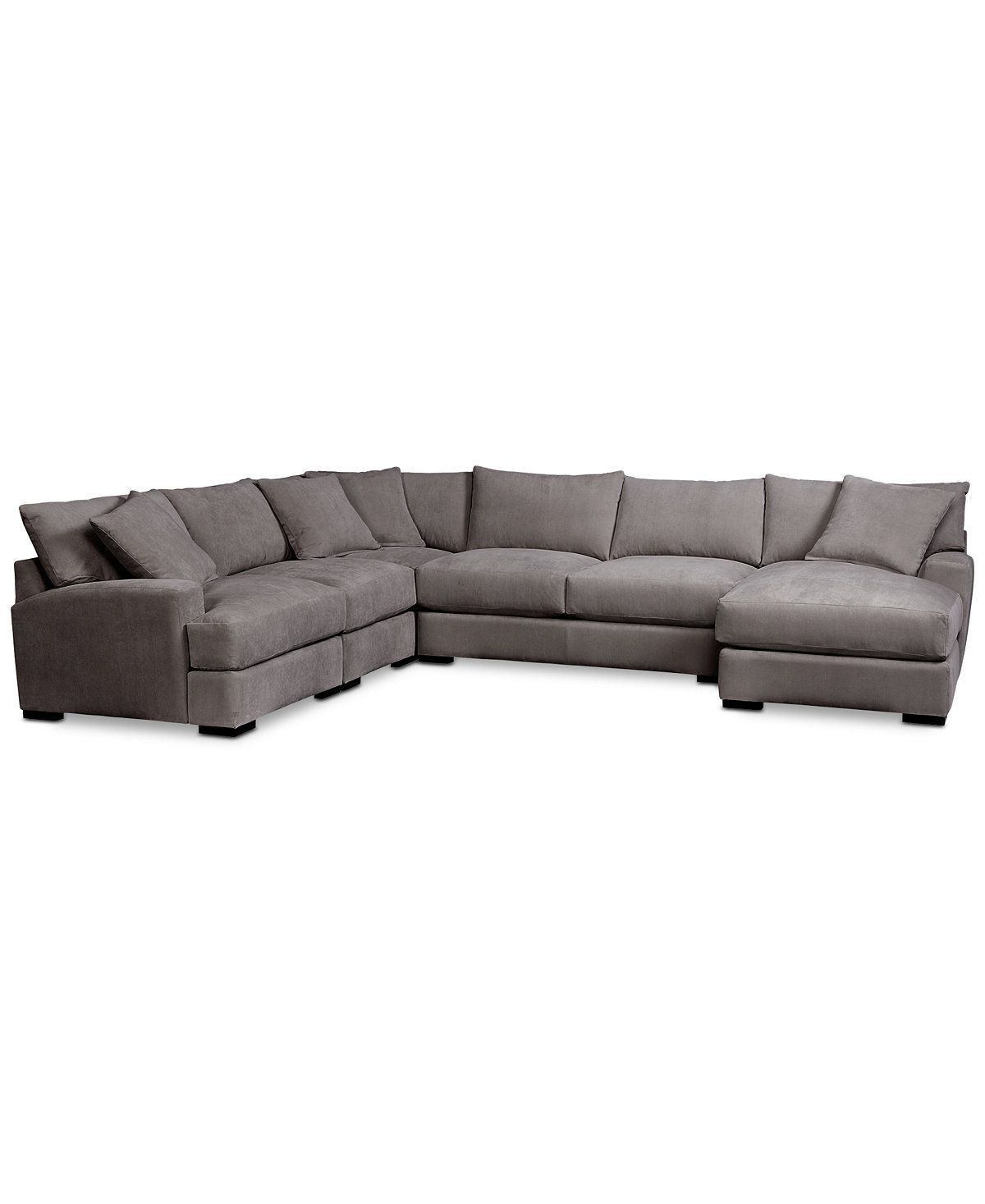 Rhyder 5Piece Sectional with Chaise Sectional Sofas Furniture