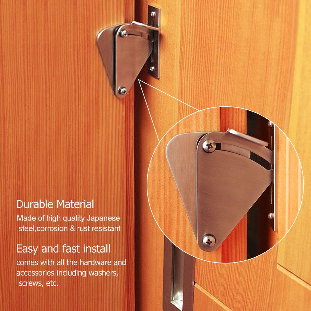 Stainless Steel Lock For Sliding Barn Door Wood Door Latch Gate Door Elements