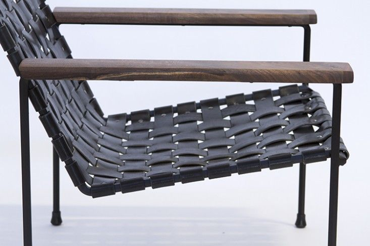 Charmant Woven Leather Chairs With A West Coast Edge   Remodelista