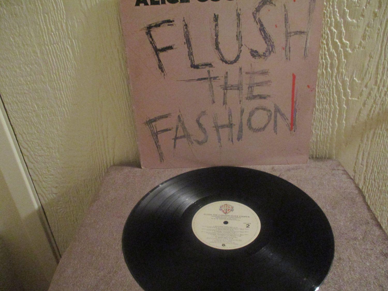 Alice Cooper Flush The Fashion Original Vintage Album Lp In