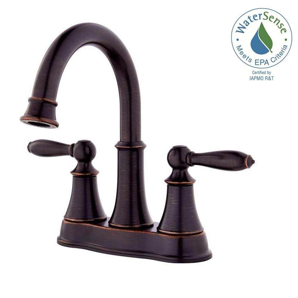 Salle De Bain Wittenheim ~ Pfister Courant 4 In Centerset 2 Handle Bathroom Faucet In Tuscan