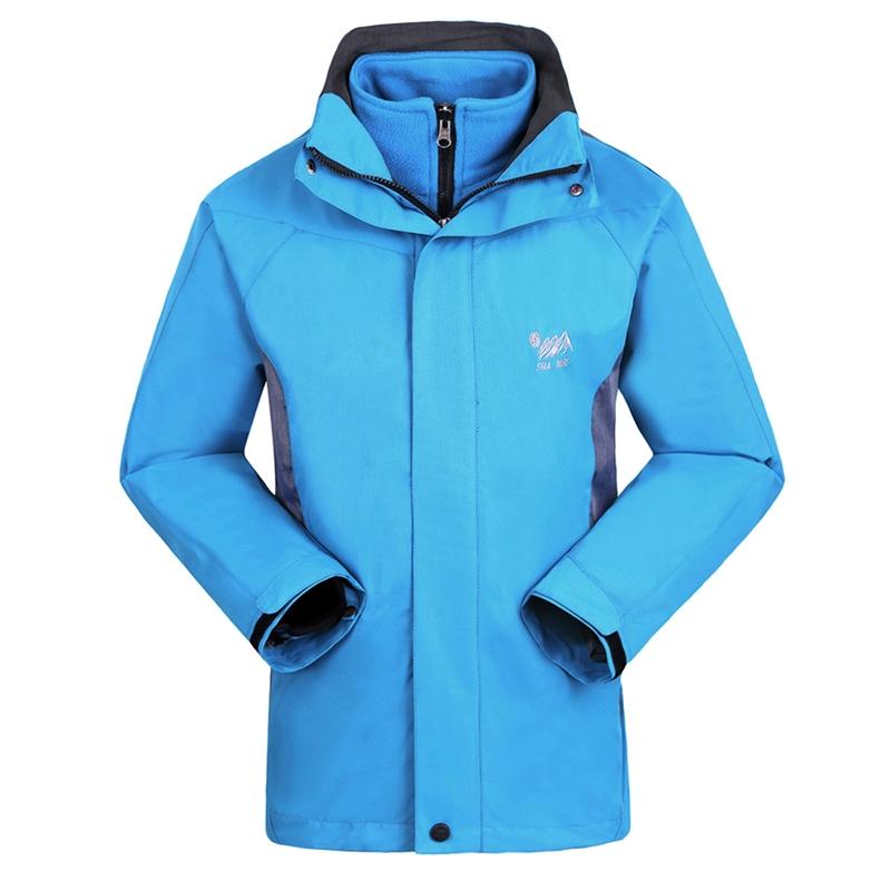 59.99$  Buy here - http://alibll.worldwells.pw/go.php?t=32723864698 - 2016 Winter Windstopper Coat Outdoor Ski Hiking Climbing Fishing Clothing Fleece Lining Waterproof Jacket Men Jaqueta Masculina 59.99$