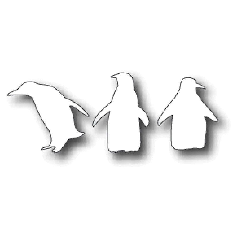Memory Box Die - Playful Penguins Code: MBD-14999