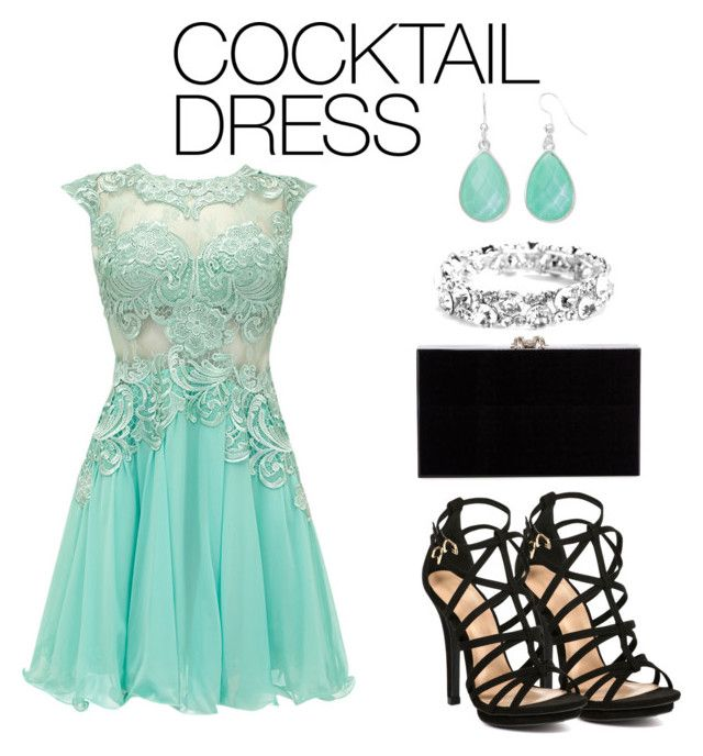 """""""#cocktaildress"""" by tlb0318 ❤ liked on Polyvore featuring Charlotte Olympia, Liz Claiborne, dress, cocktaildress, contestentry and polyvorecontest"""