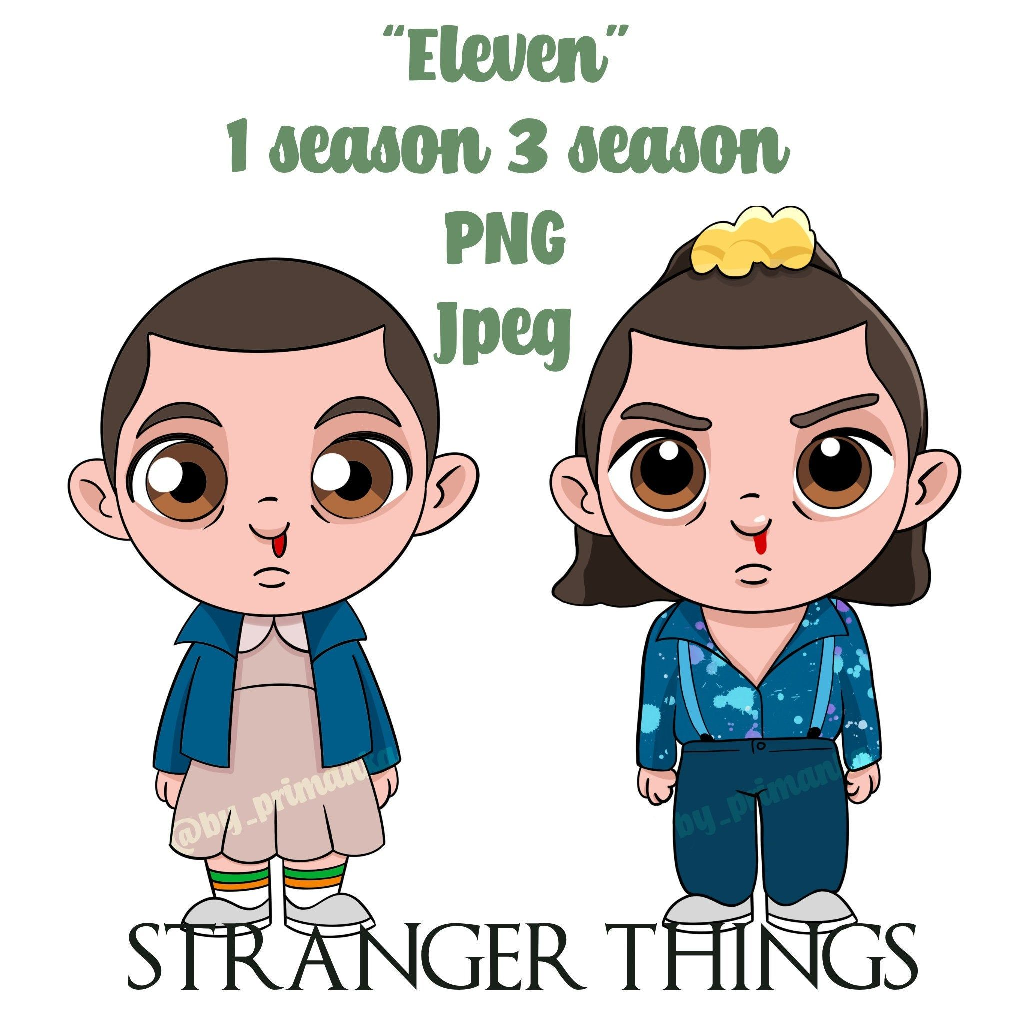 Stranger Things Eleven 11 Art Poster Printable Png Jpeg In 2020 Stranger Things Posters Printable Stranger Things Netflix