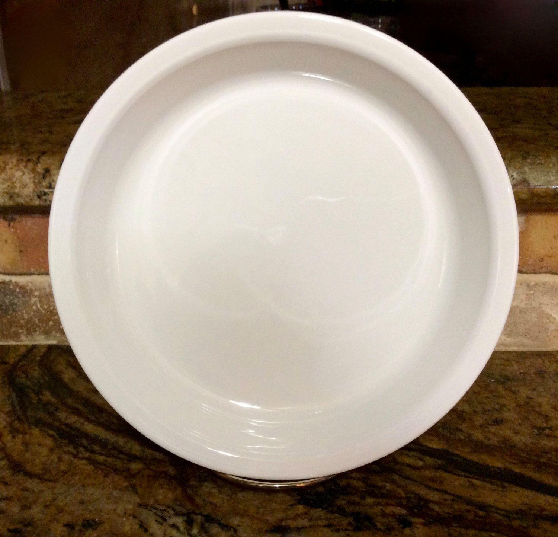 Vintage Corning Ware Winter White 9 inch Baking Pie Plate P-309 by\u2026 & Vintage Corning Ware Winter White 9 inch Baking Pie Plate P-309 by ...