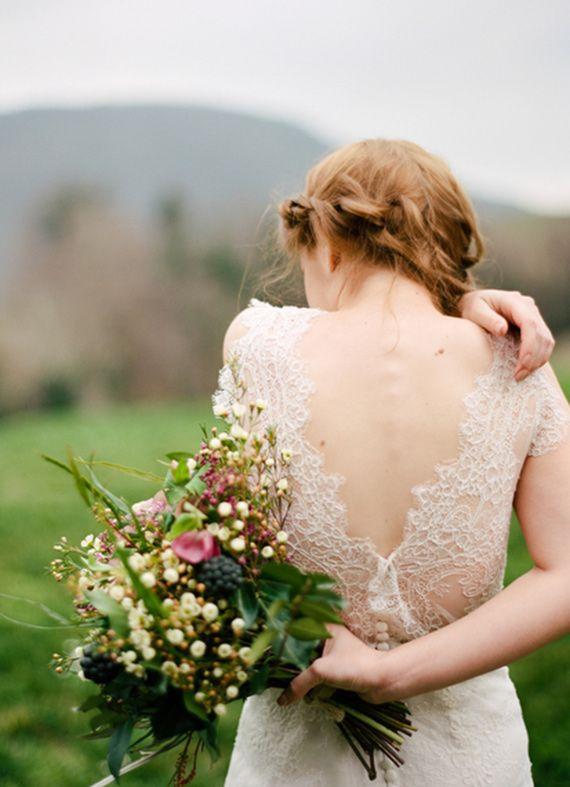 Organic and earthy wedding ideas love the back of this dress wedding dress organic and earthy wedding ideas junglespirit Choice Image