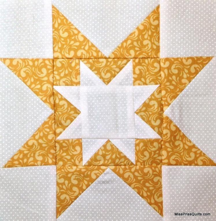 Rising Star Quilt Block | Quilt blocks | Star quilt blocks