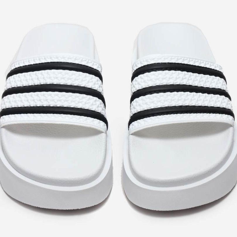 b5e9b90ed Today s Crush  adidas Originals Adds Height To It s Adilette Slides ...
